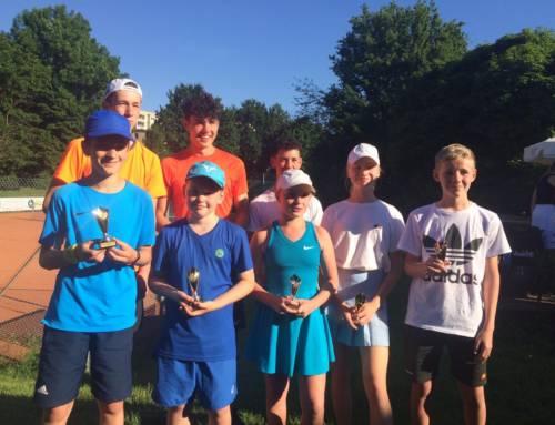 Fünf Kreismeistertitel für die Tennisjugend des WSV Blau-Weiß Rheidt